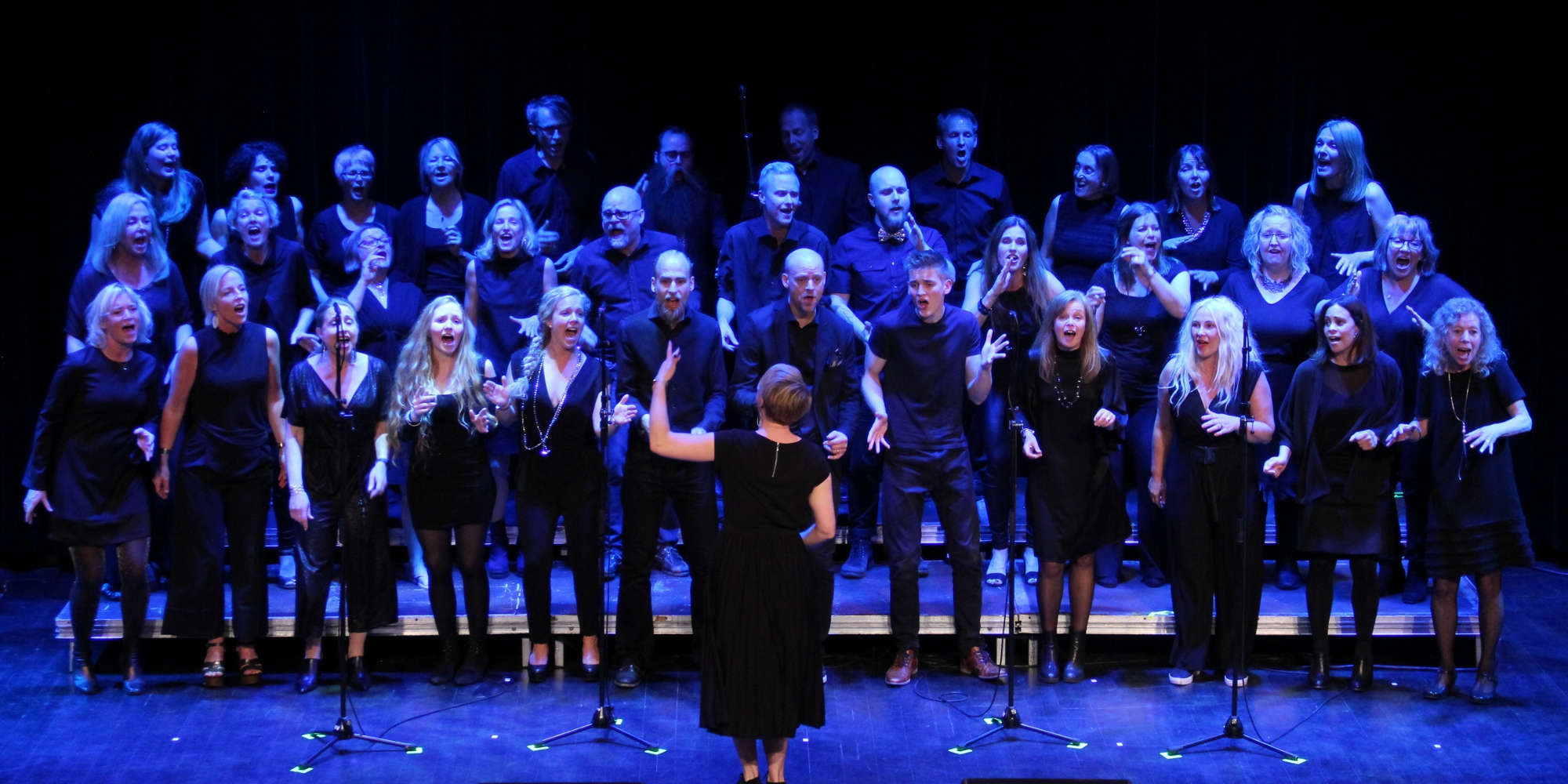 It's not over – Rejoice Gospel Choir med band!