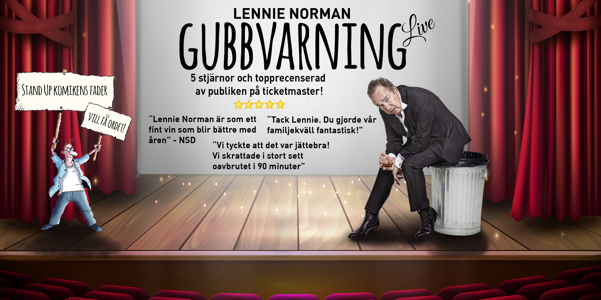 Lennie Norman ­Gubbvarning Live!